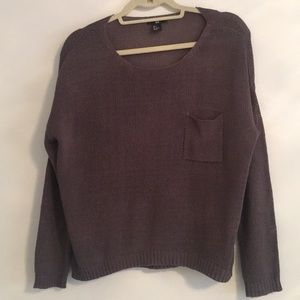 H&M Sweater With Front Pocket